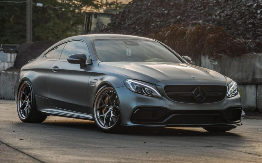2019 Mercedes-AMG C63 S Coupe by Butler on Vossen Wheels (S21-01 (3-Piece))