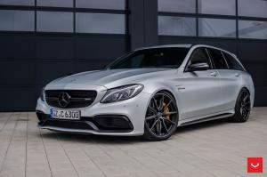 Mercedes-AMG C63 S Estate on Vossen Wheels (HF-3) 2019 года