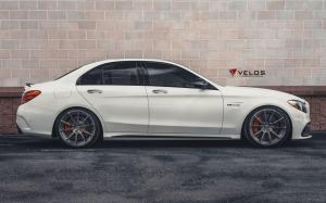 Mercedes-AMG C63 S on Velos Wheels (S10) 2019 года