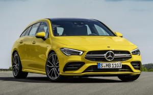 Mercedes-AMG CLA35 4Matic Shooting Brake 2019 года (WW)