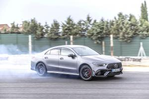Mercedes-AMG CLA45 S 4Matic+ Aerodynamic Package 2019 года