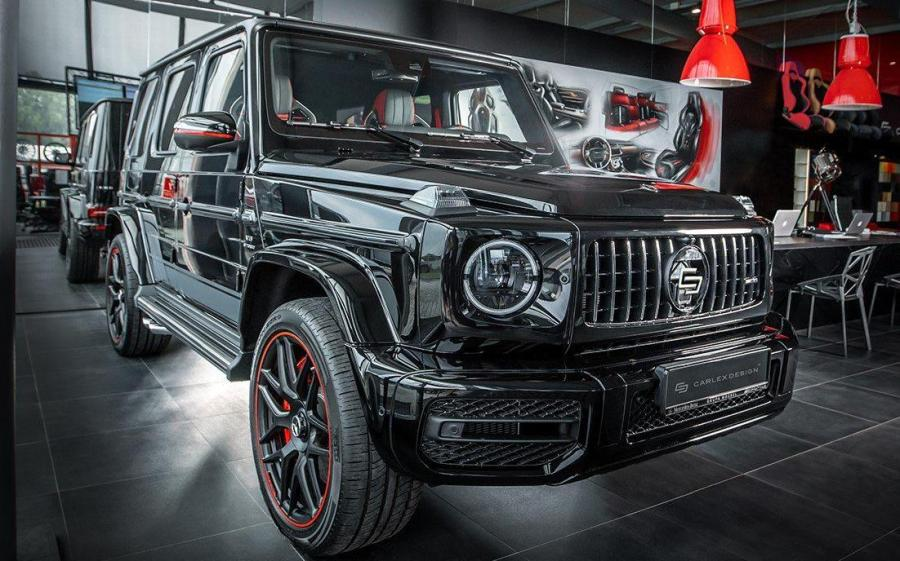 2019 Mercedes-AMG G63 40 Years of Legend by Carlex Design