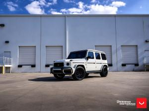 2019 Mercedes-AMG G63 700 by Brabus & Designo Motoring on Vossen Wheels (HF-2)