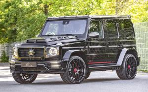 Mercedes-AMG G63 CLR G770 Black by Lumma Design 2019 года