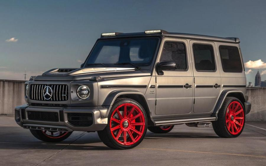 2019 Mercedes-AMG G63 S by Lorincer & Butler on Vossen Wheels (S17-12)