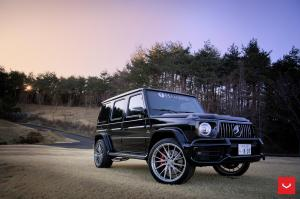 Mercedes-AMG G63 by Hamana on Vossen Wheels (HF-3) 2019 года