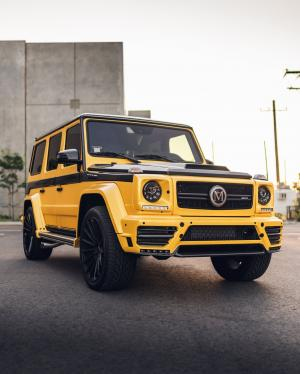 Mercedes-AMG G63 by Mansory & Impressive Wrap 2019 года