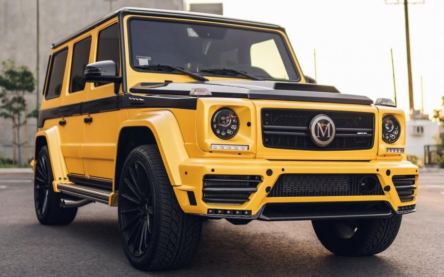 2019 Mercedes-AMG G63 by Mansory & Impressive Wrap