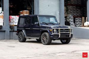 Mercedes-AMG G63 on Vossen Wheels (HF-2) 2019 года