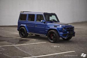 2019 Mercedes-AMG G65 by Brabus & SR Auto Group on PUR Wheels (FL23)