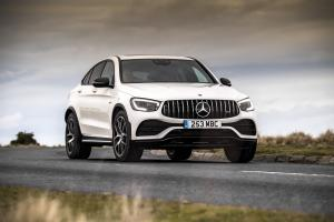 Mercedes-AMG GLC43 4Matic Coupe 2019 года (UK)