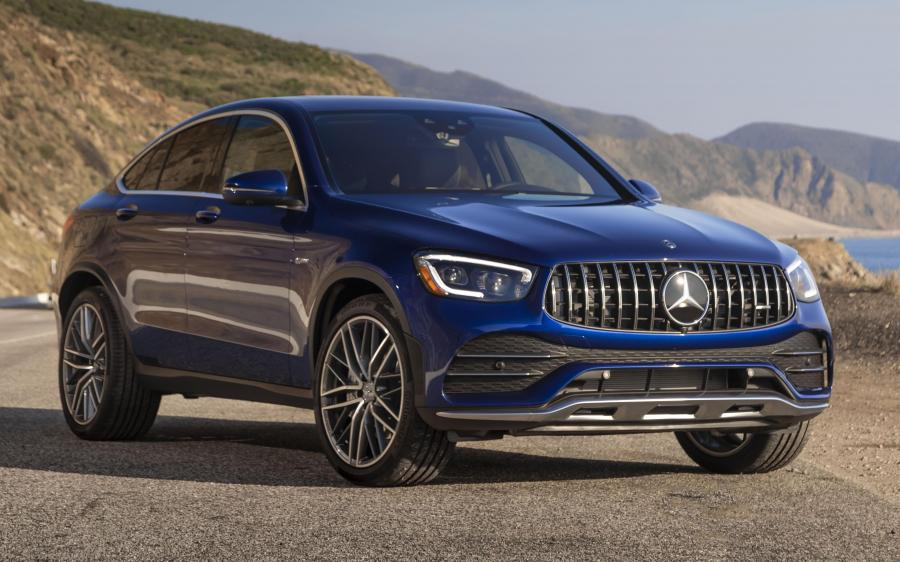 Mercedes-AMG GLC43 4Matic Coupe (C253) (NA) '2019