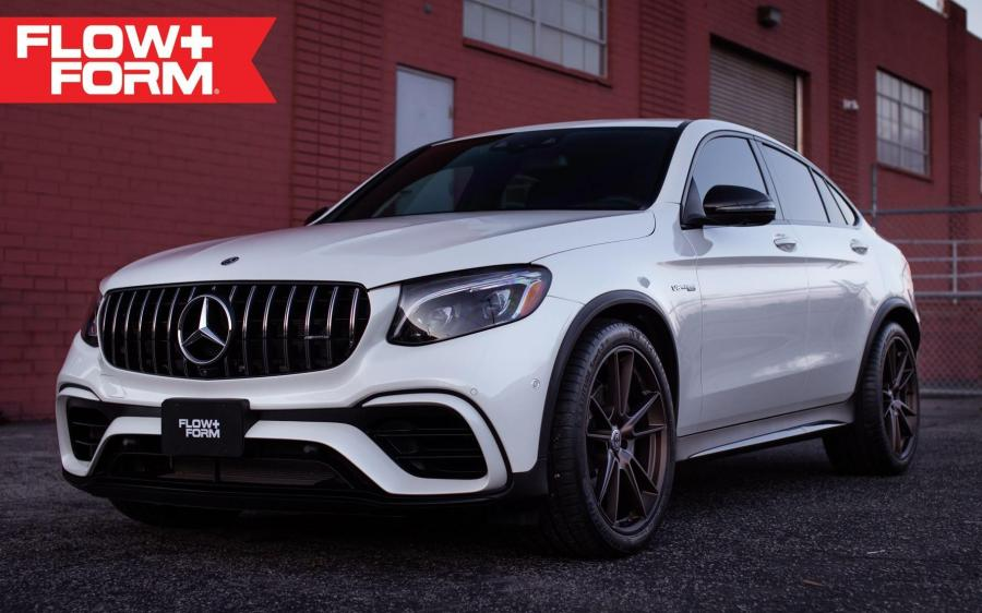 2019 Mercedes-AMG GLC63 4Matic Coupe by Autotalent on HRE Wheels (FF04)