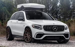 Mercedes-AMG GLC63 4Matic+ by RENNtech on Vossen Wheels (HF-2) 2019 года