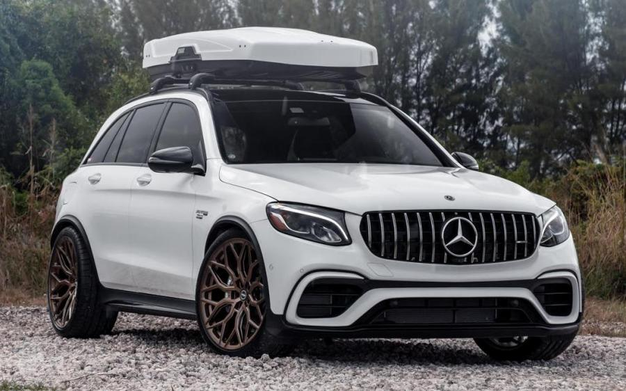 Mercedes-AMG GLC63 4Matic+ by RENNtech on Vossen Wheels (HF-2) '2019