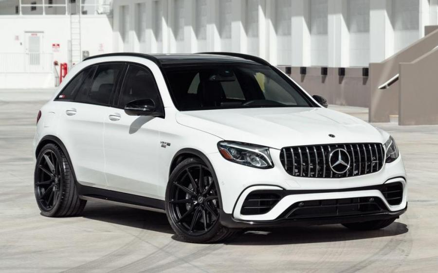 Mercedes-AMG GLC63 4Matic+ by RENNtech on Vossen Wheels (HF-3) '2019