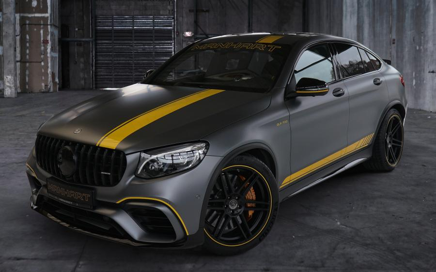 2019 Mercedes-AMG GLC63 S Coupe by Manhart Racing