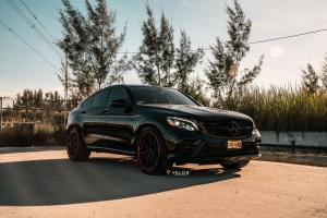 2019 Mercedes-AMG GLE43 4Matic Coupe on Velos Wheels (D7)