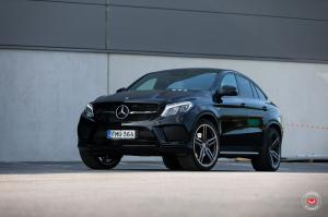 Mercedes-AMG GLE63 S Coupe on Vossen Wheels (HC-1) 2019 года