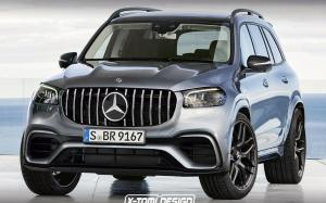 Mercedes-AMG GLS63 by X-Tomi Design 2019 года