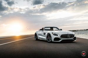2019 Mercedes-AMG GT C Roadster on Vossen Wheels (M-X6)