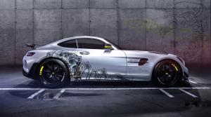 2019 Mercedes-AMG GT R PRO Tattoo Edition by Carlex Design