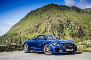 Mercedes-AMG GT S Roadster 2019 года