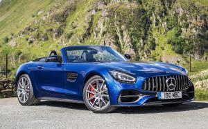 Mercedes-AMG GT S Roadster 2019 года (UK)