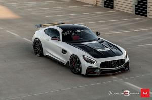 2019 Mercedes-AMG GT S by Creative Bespoke on Vossen Wheels (HF-3)