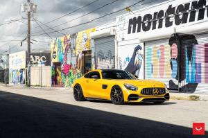 Mercedes-AMG GT S on Vossen Wheels (HF-3) 2019 года