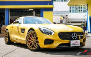 Mercedes-AMG GT S on Vossen Wheels (S17-01) 2019 года