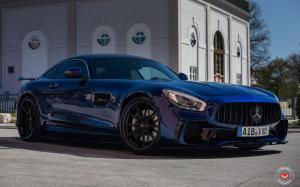 Mercedes-AMG GT on Vossen Wheels (M-X2) 2019 года