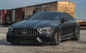 2019 Mercedes-AMG GT63 S 4Matic+ 4-Door Coupe by Butler on Vossen Wheels (M-X4T)