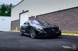 Mercedes-AMG S63 4Matic+ Coupe by Designo Motoring on Vossen Wheels (S21-01) 2019 года