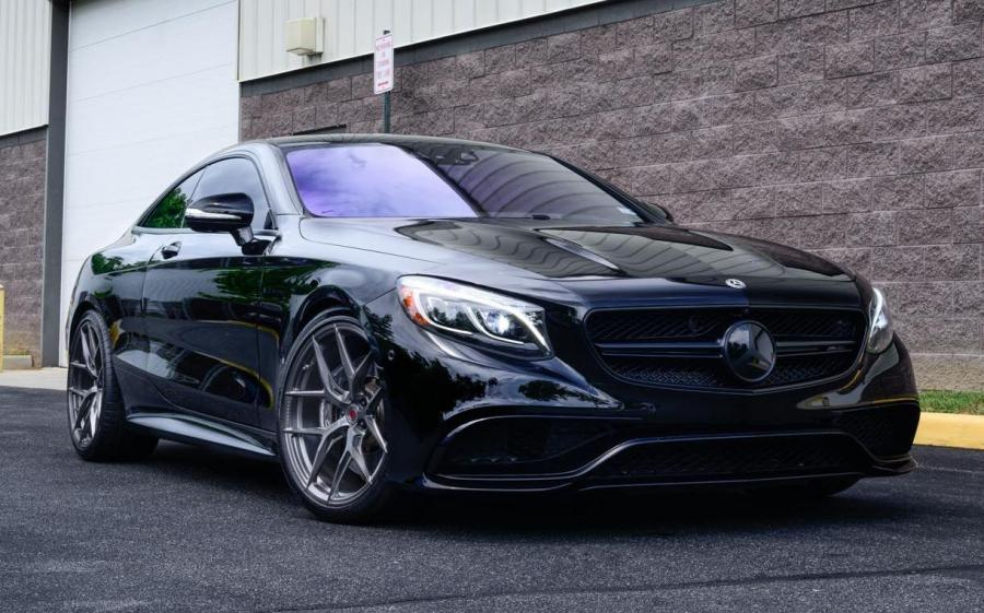 Mercedes-AMG S63 4Matic+ Coupe by Designo Motoring on Vossen Wheels (S21-01) '2019