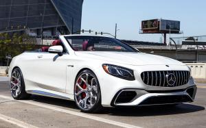 Mercedes-AMG S63 Cabriolet on Forgiato Wheels (Quadri-ECL) 2019 года