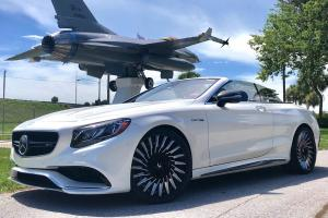 Mercedes-AMG S63 Cabriolet on Forgiato Wheels (TEC 3.4) 2019 года