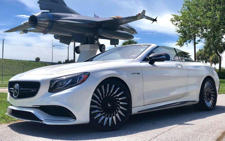 Mercedes-AMG S63 Cabriolet on Forgiato Wheels (TEC 3.4) '2019