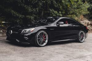 Mercedes-AMG S63 Coupe on ADV.1 Wheels (ADV10 TRACK SPEC CS) 2019 года