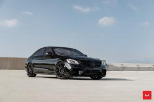 Mercedes-AMG S63 Gloss Black by Boden Autohaus on Vossen Wheels (CV10) 2019 года
