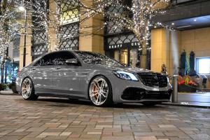 Mercedes-AMG S63 Nardo Gray by Lager Corporation on ADV.1 Wheels (ADV5.3 M.V2 CS) 2019 года