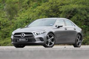 2019 Mercedes-Benz A200 Progressive Line Sedan