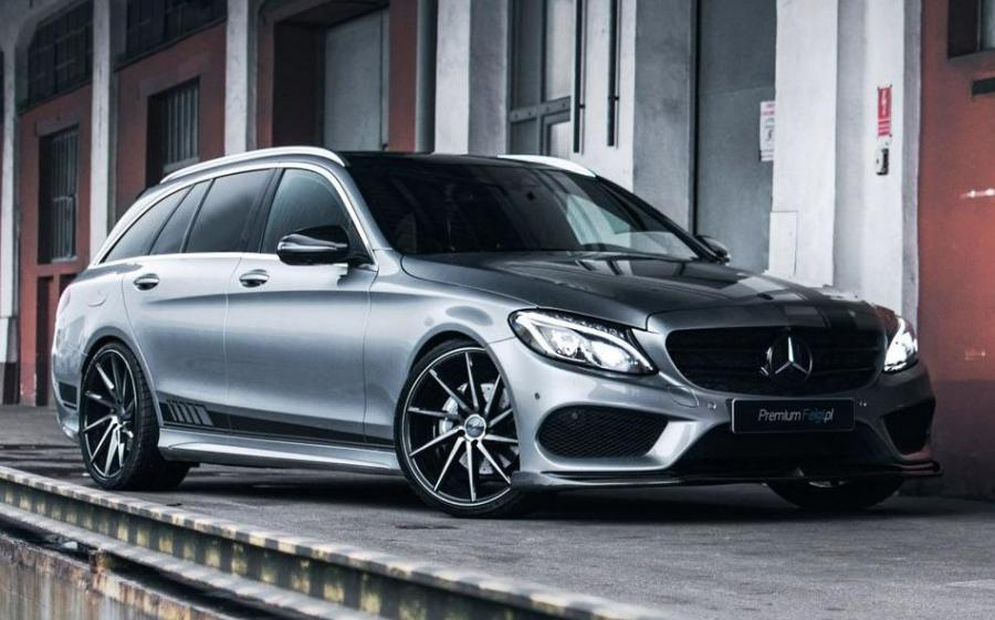 2019 Mercedes-Benz C-Class Estate AMG Line on Vossen Wheels (CVT)