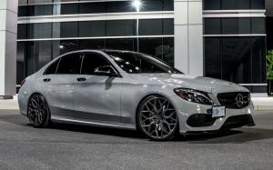 Mercedes-Benz C-Class on Vossen Wheels (HF-2) 2019 года