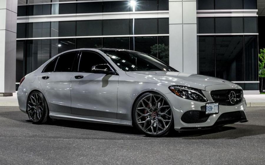 2019 Mercedes-Benz C-Class on Vossen Wheels (HF-2)