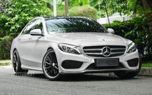 Mercedes-Benz C300 by Permaisuri on Vossen Wheels (VWS-2) 2019 года