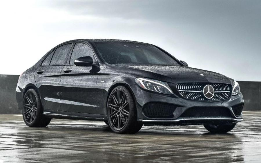 2019 Mercedes-Benz C450 AMG Line on Vossen Wheels (CV10)