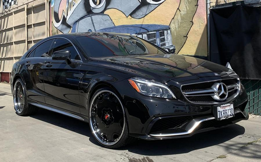 2019 Mercedes-Benz CLS63 AMG on Forgiato Wheels (Fiore)