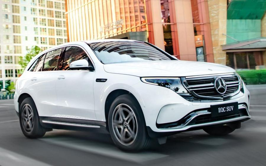 Mercedes-Benz EQC400 4Matic (N293) (CN) '2019