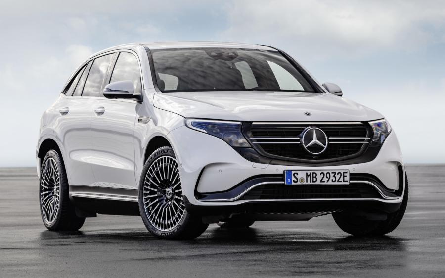 Mercedes-Benz EQC400 4Matic AMG Line (N293) (WW) '2019